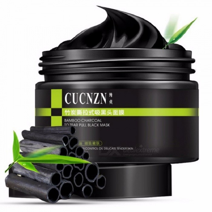 Blackhead Cleansing Remover Mask Bamboo Charcoal Blackhead: CUCNZN Blackhead Removal Bamboo Charcoal Black Mask Acne