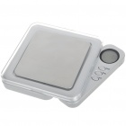 Portable Pocket Digital Scale - 500g/0.1g (2*AAA)