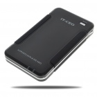 "2.5"" SATA + IDE USB 2.0 External HDD Enclosure with Soft Carrying Pouch - Black"