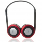 Sport MP3 Player + Bluetooth Headset with FM/TF Slot - Black + Red (15-Hour Talk/200-Hour Standby)