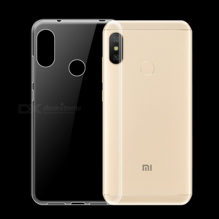 online store 09491 2b2d1 Dayspirit Ultra-Thin Protective TPU Back Case for Xiaomi Redmi 6 Pro -  Transparent