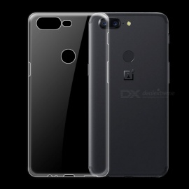 Dayspirit Ultra-Thin Protective TPU Back Case for OnePlus 5T , 1+5T - Transparent