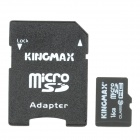KingMax Micro SD / SDHC con adaptador de tarjeta SD (16GB / Class 10)
