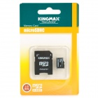 Genuine KingMax Micro SD/SDHC Card with SD Card Adapter (8GB/Class 6)