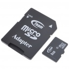 Genuine Team Group Micro SD/SDHC Card with SD Card Adapter (8GB/Class 10)