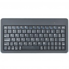 80-Key Slim Portable Bluetooth 2.0 Wireless Keyboard - Black (2*AAA)