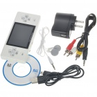 "Portable 2.8"" LCD MP3/MP4 Media Games Player with Camera/FM/TV-out/TF - White (2GB)"