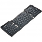 Compact Foldable 69-Key USB Keyboard for PC/Tablet PC/Notebook - Black