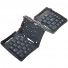 Compacto Dobrável 69-Key Keyboard USB para PC / Tablet PC Notebook / - Preto
