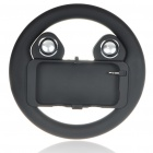 Unique Rechargeable Battery Steering Wheel Style Music Speaker for Iphone 4/3G/3GS