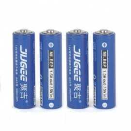 1.5V 3000mWh AA Lithium-Ion Batteries AA Li-polymer Li-ion Lithium-Polymer Rechargeable Batteries Charger Set 4 PCS