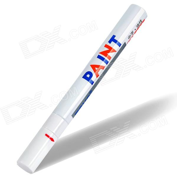 Decoration Oil Base Medium Point Paint Marker for Car Tires - White
