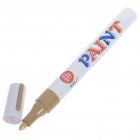Decoration Oil Base Medium Point Paint Marker for Car Tires - Golden