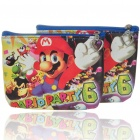Cute Cartoon PU Leather Purse Wallets - Super Mario (2-Pack)