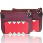 Cute Cartoon PU Leather Purse Wallets - Domo Kun (2-Pack)