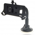 Plastic Car Swivel Mount Holder with Car Power Charger for Nokia C7 (DC 12~24V)