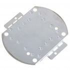 60W 3300K 4500LM LED Emitter Metal Plate - Warm White (30~36V)