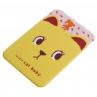 Imitative Leather Card Holder Case - Yellow