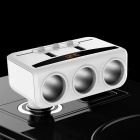 Car Cigarette Lighter Sockets Splitter 3.1A USB Phone Charging Dual USB Ports