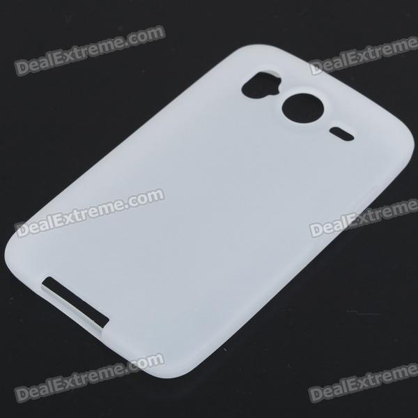 Protective Silicone Case for HTC Desire HD (White)