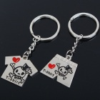 Buy Unique Valentines' Zinc Alloy Keychains - T-Shirt & Pants (2-Piece Set)