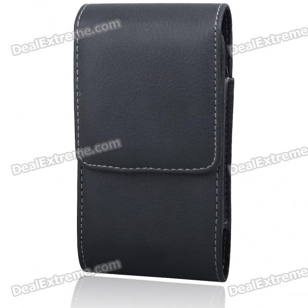Protective PU Leather Case with Belt Clip for HTC Desire HD