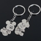 Buy Cute Valentines' Zinc Alloy Keychain - Mickey Mouse (2-Piece Set)