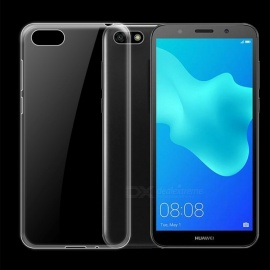 Dayspirit Ultra-Thin Protective TPU Back Case for Huawei Y5 Prime (2018) , Y5 (2018) - Transparent