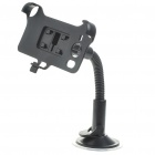 Plastic Car Swivel Mount Holder with Car Charger for HTC Desire HD (DC 12~24V)