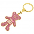 Buy Cute Bear Shaped Zinc Alloy Keychain