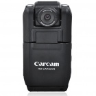 1.3 MP Wide Angle 2-LED Flash Digital Car DVR Camcorder w/ Motion Detection/Mini USB/TF (2.0&quot; LCD)