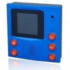 1.5&quot; TFT LCD Video Memo Message Recorder with Magnet - Blue (2*AAA)