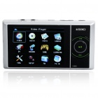 "JXD693 2.8"" LCD MP3/MP4 Portable Multi-Media Player with FM Radio/Camera/TF Slot - White (2GB)"