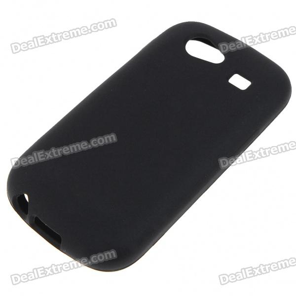 Protective Silicone Case for Samsung i9020/Google NEXUS s - Black
