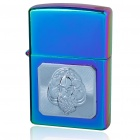 Multicolor Zinc Alloy Fuel Lighter