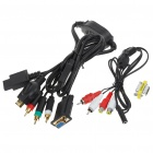 PC Monitor HDTV VGA Adapter Cable for PS3/Wii