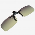Clip-on UV400 Protection Resin Lens Attachment Sunglasses - Small