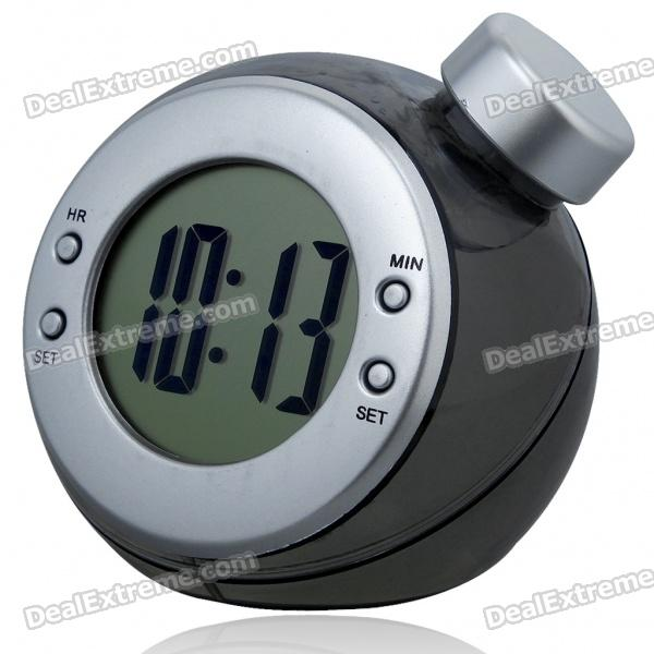 Eco-Friendly Water-Powered Clock - Black