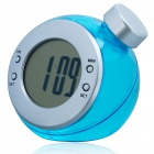 Eco-Friendly Water-Powered Clock - Blue