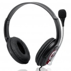 USB Multimedia Stereo Headset with Microphone & Volume Control (2.4M-Cable)