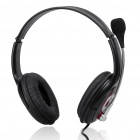 USB Multimedia Stereo Headset with Microphone & Volume Control (2.2M-Cable)