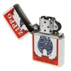Genuine Zippo Fuel Lighter with Poker Set