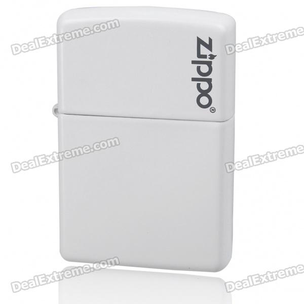 Genuine Zippo Fuel Lighter - White