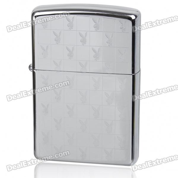 Genuine Zippo Fuel Lighter - Silver
