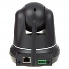 300KP Security Wireless CCTV IP Camera w/ 10-LED Night Vision/Microphone/Motion Detection - Black