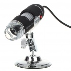 Portable USB 2.0 CMOS 2.0MP 400X Digital Microscope with 8-LED Illumination