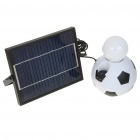 Solar Power Rechargeable 2600mAh 1-LED Camping Lantern White Light Bulb w/ USB Power Port