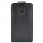 Protective PU Leather Case with Stylus + Strap for HTC Desire HD