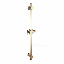 Brass Metal Shower Sliding Bar with Height Adjustable for Bathroom - Golden