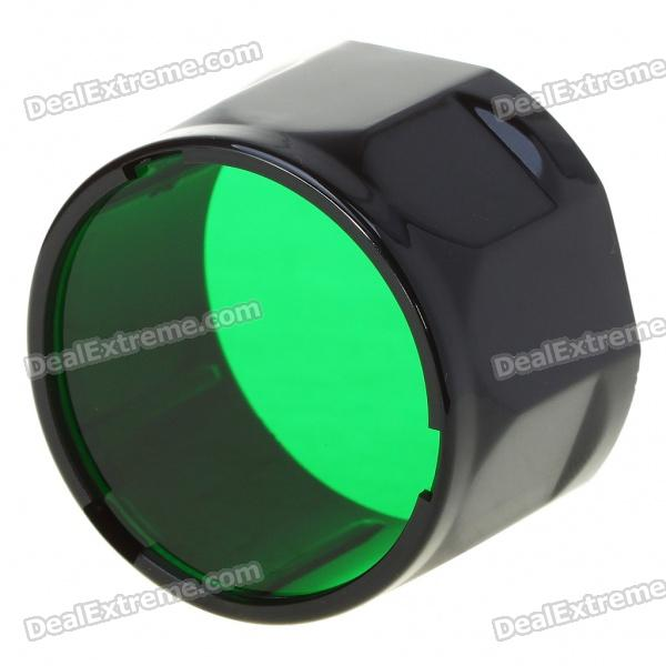 FENIX Green Filter Adapter Cap Lampe de signalisation de lampe de poche - Vert (39,7mm-Diameter)